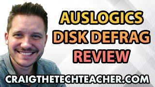 Review Of Auslogics Free Defrag Hard Drive Optimization (2012)