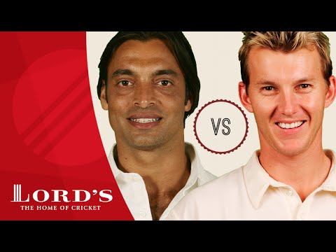 Shoaib Akhtar vs Brett Lee  Who's The Greatest?