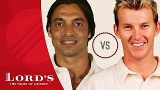 Shoaib Akhtar vs Brett Lee | Who's The Greatest?