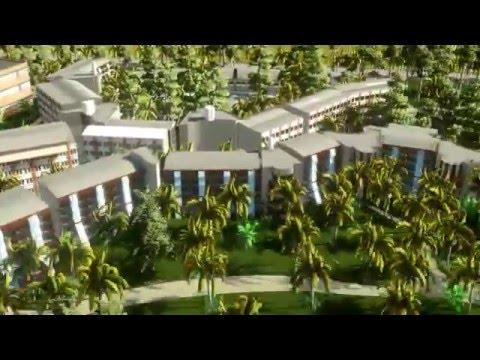 3D MODELLEME Family Lake House RİXOS SUNGATE-temel Tacal-3D Modeling Family Lake House Rixos Sungate