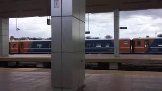 2020.1.5(日)15:26 マレー鉄道の旧国鉄14系客車【グマス(Gemas)駅】
