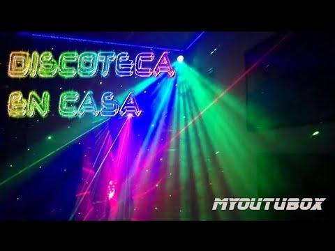 La mejor habitaci n cuarto discoteca con iluminaci n led y - Discoteca in casa ...