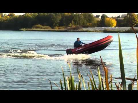 лодка солар 380 тохатсу 18