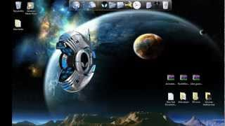 windows 7 theme how to install animated 3d icons for rocketdock on pc desktop