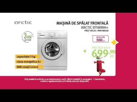 Reclamă ALTEX - mașină de spălat ARCTIC 2 - decembrie 2015