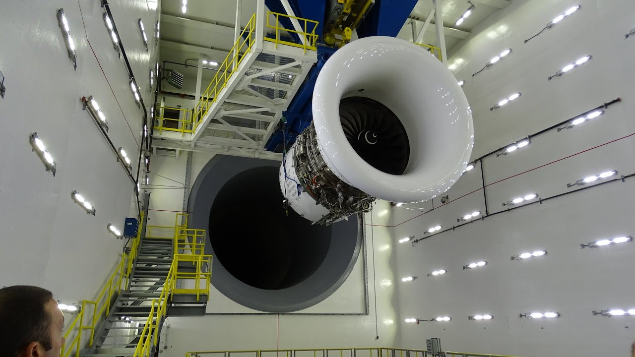 World's largest jet engine test cell #avgeek #airlines #delta
