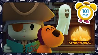 👻 POCOYO in ENGLISH - Halloween Stories [101 minutes] | Full Episodes | VIDEOS and CARTOONS for KIDS