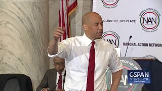 Sen. Cory Booker complete remarks at National Action Network Conference (C-SPAN)
