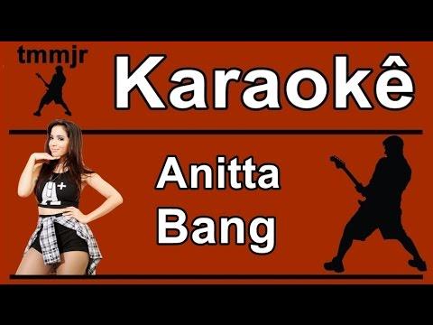 Anitta Bang karaoke