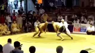 MGL Byamba vs RUS Margiev Sumo Worlds 2015