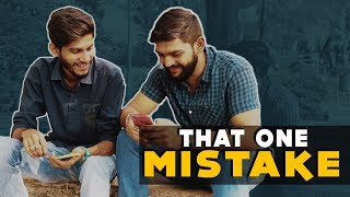 That One Mistake | Team Lemme Think