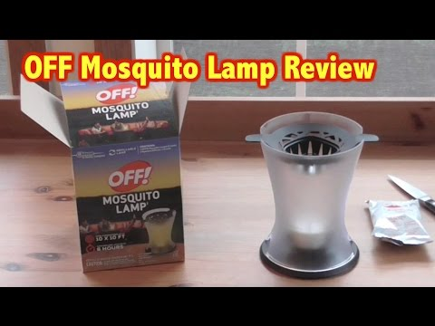 OFF Mosquito Lamp Review U0026 Unboxing  Mosquito Protection