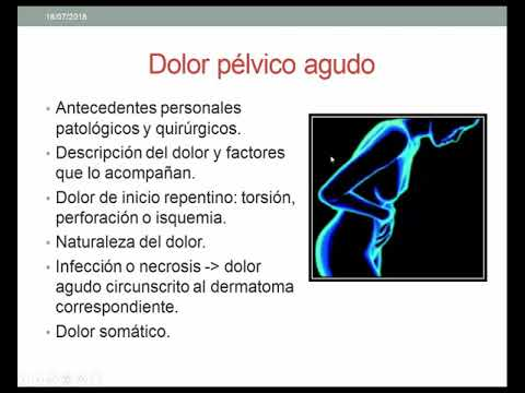 video de infección de dolor pélvico