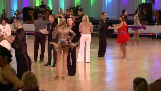 Stephen and Alina at Desert Classic 2015, Closed Bronze Mambo