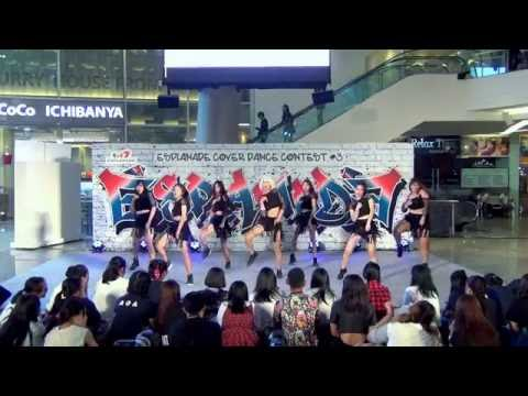 160717 [Wide] DOL cover AOA - Confused + Good Luck @ Esplanade Cover Dance#3 (Audition)
