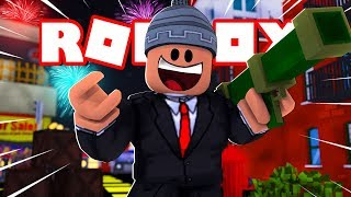 Roblox - O NOVO CHEFE DO CRIME COM BAZUCA ( Jailbreak )