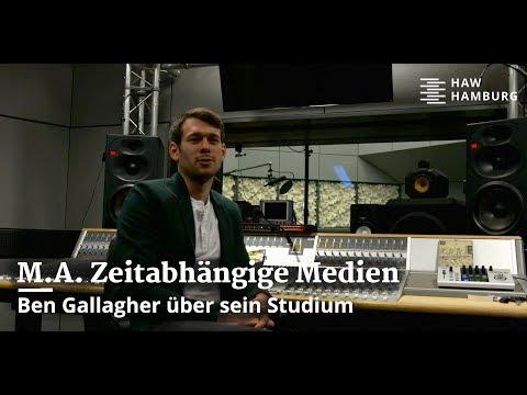 Internationale Studierende: Ben Gallagher aus dem Master Zeitabhängige Medien, Sound-Vision