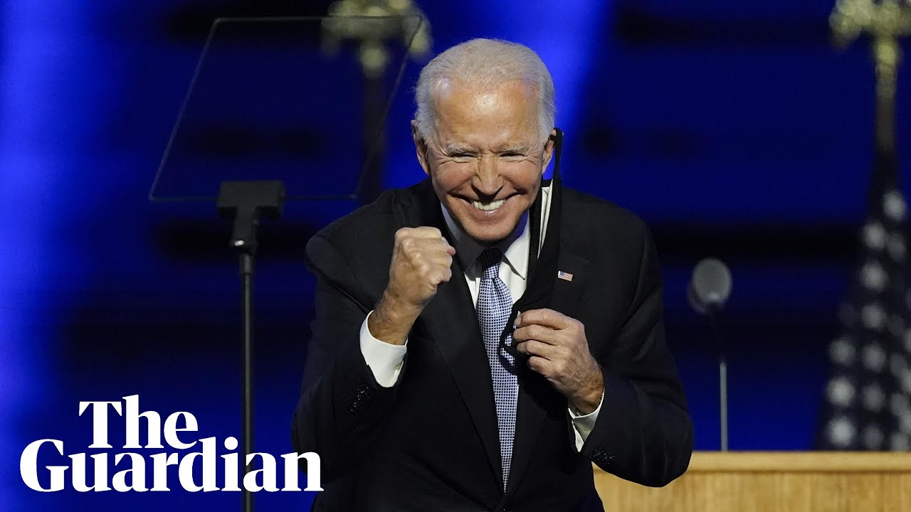 Joe Biden's victory speech in full: 'We must restore the soul of America'