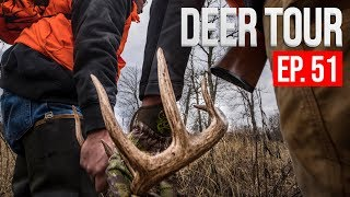 WISCONSIN Gun Hunt Opening Weekend, Deer Camp! - DEER TOUR E51