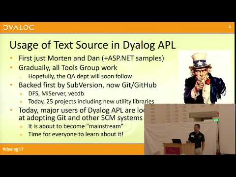 Dyalog17: APL Source Code in Text Files