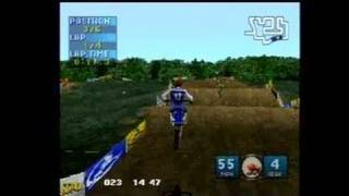 Jeremy McGrath Supercross 2000 PlayStation Gameplay