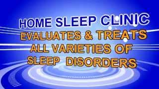 Home Sleep Clinic: Sleep Apnea