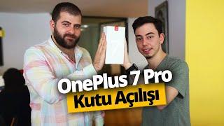 ONEPLUS 7 PRO TÜRK TOPRAKLARINDA! OnePlus 7 Pro kutu açılışı ve ilk bakış!