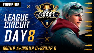 [EN] Free Fire Europe Pro League Season 2 - League Circuit Day 8
