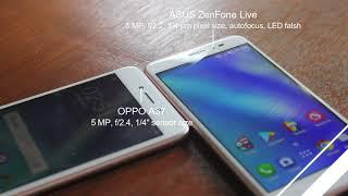 Asus Zenfone Live VS Oppo A37