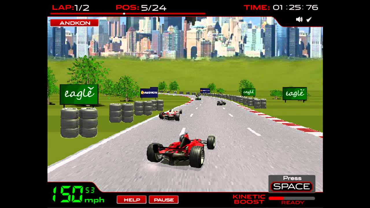 Play F 1 Racing Game Cars Free