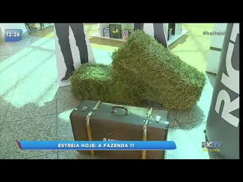 Mala de 'A Fazenda 11' está no Itajaí Shopping