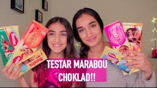 TESTAR MARABOU CHOKLAD! Med Melina