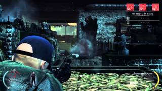 [Cyborg Plays] Hitman Absolution - Gunshop Contract - Hell YEAH! Unlimited AMMO! - HD