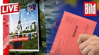 🔴 Bild Live zur Europawahl: Grüne triumphieren, Klatsche für die GroKo