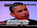 John McCain, Barack Obama and Mahmoud Ahmadinejad talk with Pastor Rick Warren about evil