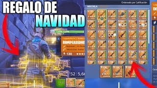 MY FRIEND GIVES ME ALL YOUR INVENTORY IN FORTNITE SAVE THE WORLD (VERY FUN)