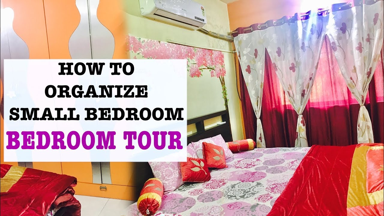 Small Bedroom Oranization |Indian Bedroom Tour | How To Organize Bedroom |  #Ruchistylecorner