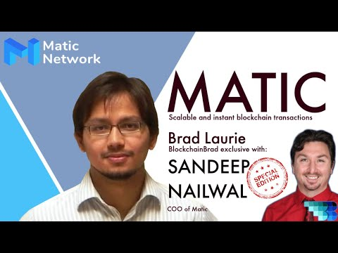 MATIC | EXCLUSIVE crypto interview | BlockchainBrad | Crypto update | Crypto Crash | Crypto News