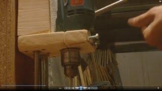Как сделать сверлильный станок Homemade Drill Press