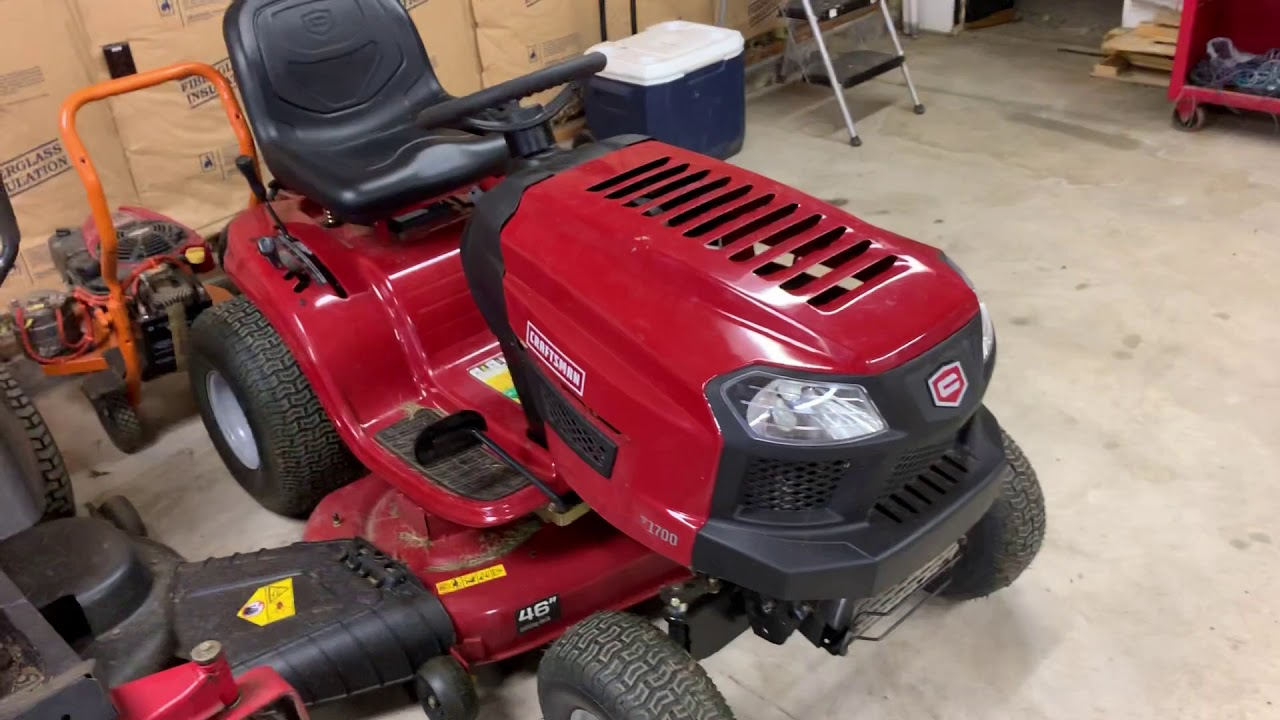 Craftsman 10 5 Hp Manualgear 30 In Riding Lawn Mower With