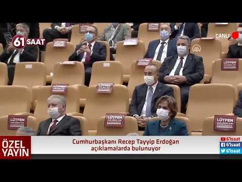CANLI - Cumhurbaşkanı Recep Tayyip Erdoğan flaş açıklamalarda bulunuyor