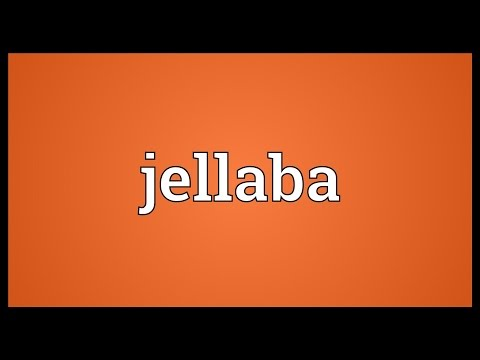 Header of jellaba