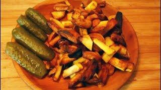 Просто картошка с салом. Чо ПОХАВАТЬ. #чопохавать