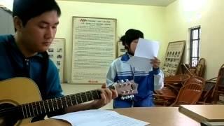 Giọt sương và chiếc lá - CLB guitar THPT Vân Nội 22/1/2014