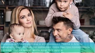 Павел Прилучный избил жену Агату Муцениеце