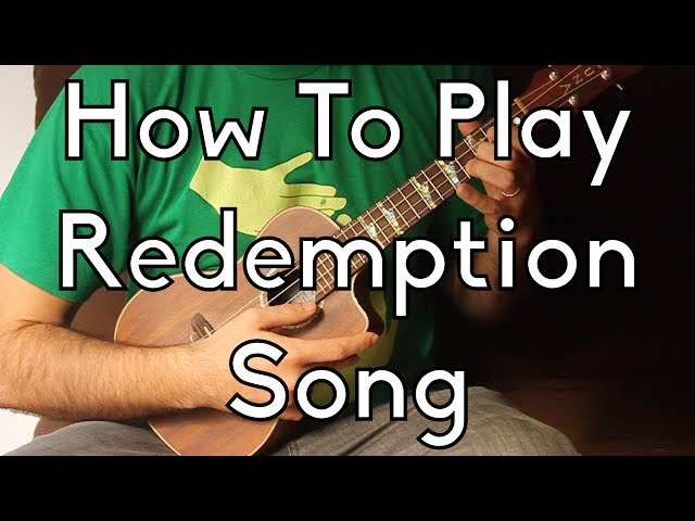 Bob Marley Redemption Song Ukulele Lesson By Tyler Austenfeld