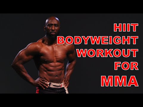 Hiit Bodyweight Workout For Mma