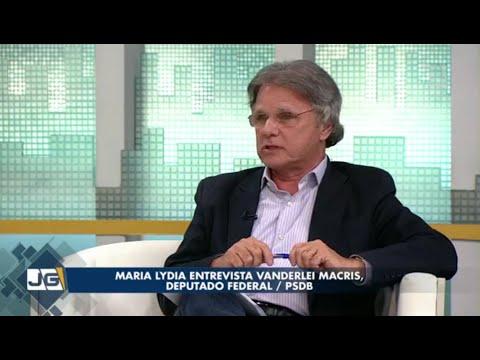Maria Lydia entrevista Vanderlei Macris, deputado federal/PSDB