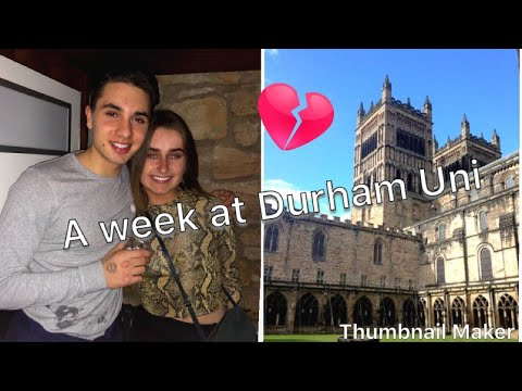 A week at Durham University | turning 20 and getting college married!