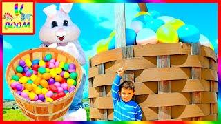 Пасхальные развлечения для детей! Пасха в США - Охота на Яйца - Easter Egg Hunt